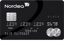 Nordea black card